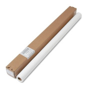 Table Set Plastic Banquet Roll, Table Cover, 100cm x 30m, White, Sold as 1 Each