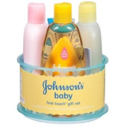 Johnson's Baby First Touch Gift Set, 5 Pc