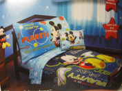 Disney Mickey Mouse Space AdventuresToddler Bedding (FITTED SHEET ONLY) Boy Girl Kid