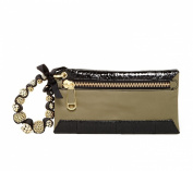 Rafe New York Celia Leather Wristlet, Olive