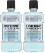 Listerine UltraClean Mouthwash, Arctic Mint, 500ml, 2pk