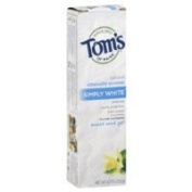 Tom's of Maine Simply White Gel Toothpaste Sweet Mint 140ml