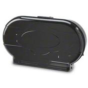 Janico Twin Roll Toilet Paper Dispenser - Smoke/Black