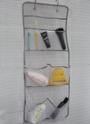 Misslo Hanging 8 Mesh Pockets Shower Organiser with Over the Door Hooks