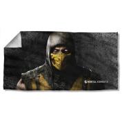 Scorpian -- Mortal Kombat X -- Beach Towel