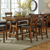 A-America Ozark Counter Height Trestle Dining Table