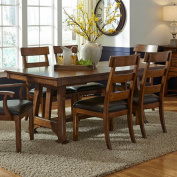 A-America Ozark Trestle Dining Table with Butterfly Leaf