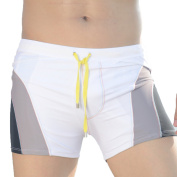 Linemoon Men's Colourful Swimming Trunks Fashion Boxer Brief