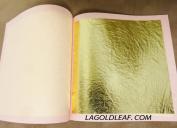 23.75K Genuine Gold Leaf Booklet