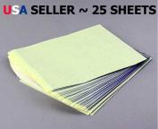 30 Pack Tattoo Stencil Transfer Stencil Carbon Paper 8.5 X 11
