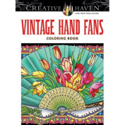 Dover Vintage Hand Fans Colouring Book