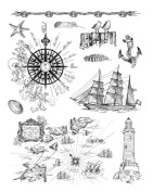 Viva Décor 400301900 At the Seaside Clear Silicone Stamp