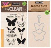 Hero Arts - Colour Layering Butterflies - Stamp and Die Set