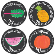 Lucy Darling Pregnancy Belly Sticker - Growing Garden - Weeks 8 - 40