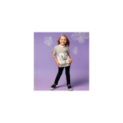 McCall Patterns M6691 Girls/Boys'/Girls' Tops and Appliques Sewing Template, Size CL
