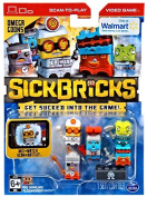 Sick Bricks Spin Docter, Omega Blaster, Magna Minion, Sludge Hammer & Pyro Techie Minifigure 5-Pack