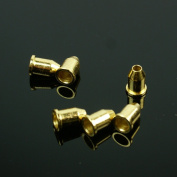 General Guitar string Thru body Ferrules Bushing Set ,6pcs ,gold plated