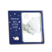 DEMDACO Dream Big Little One Whale Photo Frame, 10cm x 15cm