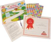 Potty Training Chart & Stickers by Potty Patty