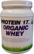 Organic Whey Protein 17 Supplement Powder, Delicious Natural, 0.5kg