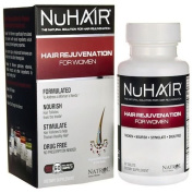 Hair Regrowth/Hair Rejuvenation For Women - natural nutrient booster for fine and thinning hair, 60 Tab.