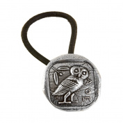 Ponytail Holder | Hair Accessory | Athena's Owl