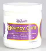 The Roots Naturelle Curly Hair Products Bouncy Curls Anti-frizz Natural Hair Moisturiser | Creates Soft Touchable Curls | Suitable for All Curly Hair Types and African American Hair | Ultra Hydrating Cream - Contains Olive and Grape Seed Oils, and Prot ..