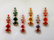 Stick On Ornament Bridal Bindi Forehead Stickers Body Art Tattoo Jewellery Bellydance - #23