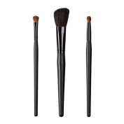 ON & OFF East Meets West Collection Shadow Fluff, Slanted Cheek and Round Precission Brush Set