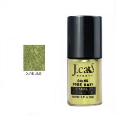J. Cat Shimmery Powder 105 Olive Lime