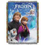 "Disney's Frozen, ""Frozen Day"" Tapestry Throw - by The Northwest Company, 120cm by 150cm"