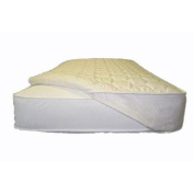 Naturepedic PQ95 Organic Cotton Non-Waterproof Quilted Topper with Straps in Queen