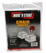 Plastic Chair Moving Covers (2 Bags) 120cm X 190cm - MBX-55