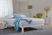 Instyle Furnishings' Lunar Platform Bed Available in Black, Grey, and White and in Twin, Full, Queen, and King