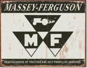 Tin Sign : Massey Ferguson Logo Tin Sign : Massey Ferguson Logo