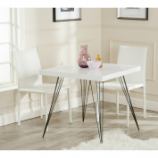 Safavieh Home Collection Wolcott White & Black Accent Table
