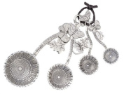 Ganz 4-Piece Measuring Spoons Set, Sunflower
