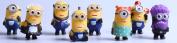Despicable Me 2 The Minions Role Figure Display Toy PVC 8Pcs Set