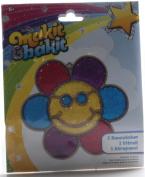 Makit & Bakit Suncatcher Kit - Glitter Smiley Face Flower