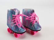 Rockin' Glitter Roller Skates for 46cm Dolls