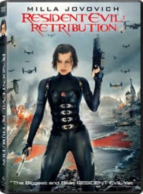 RESIDENT EVIL: RETRIBUTION [DVD_Movies]