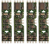 HO DCC Decoder, Drop-In DApack/5-Function 1A