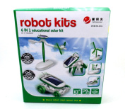 PowerTRC® 6-in-1 Educational Solar Kit Build Your Own Science Toy DIY