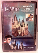 Wizarding World of Harry Potter : Build Your Own 3D, Light Up Hogwarts Castle Diorama Model Kit