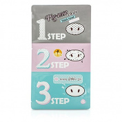 Pig Nose Clear Black Head 3 Step Kit, 10pcs