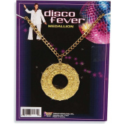 Disco Medallion Necklace