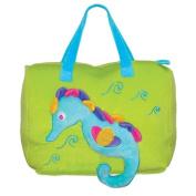 Sassafras / Plush Sea Friends Bag, Sammy Seahorse
