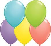 Sorbet Assortment 13cm Qualatex Latex Balloons x 100
