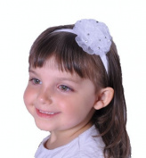 Baby Headband Glitter Ruffle Bling Small Hairband Girls Diamond