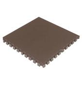 Interlocking Foam Mats EVA Foam Floor Mats (4 Tiles) Brown